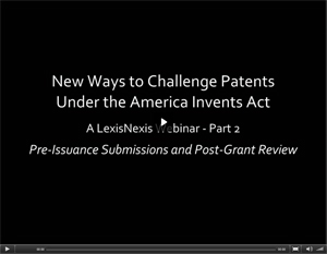 New Ways to Challenge Patents