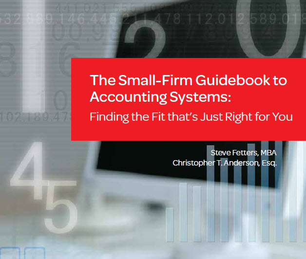 Small Firm Guidebook to Accounting Systems