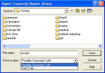 ptf file converter