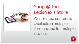 Shop at the LexisNexis® Store