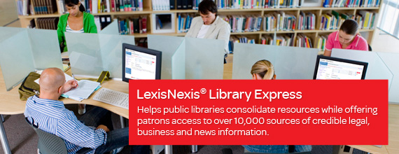 LexisNexis Academic provides students and faculty quick, comprehensive access to more than 10,000 sources of information.