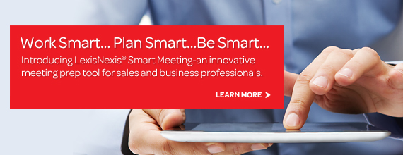 LexisNexis Smart Meeting integrates with Microsoft Outlook Calendar.