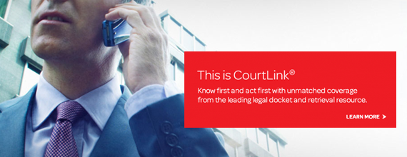 LexisNexis CourtLink - Quickly find relevant information from the largest collection of dockets and documents, in a single click, and make your case.