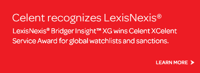 Celent recognizes LexisNexis�
