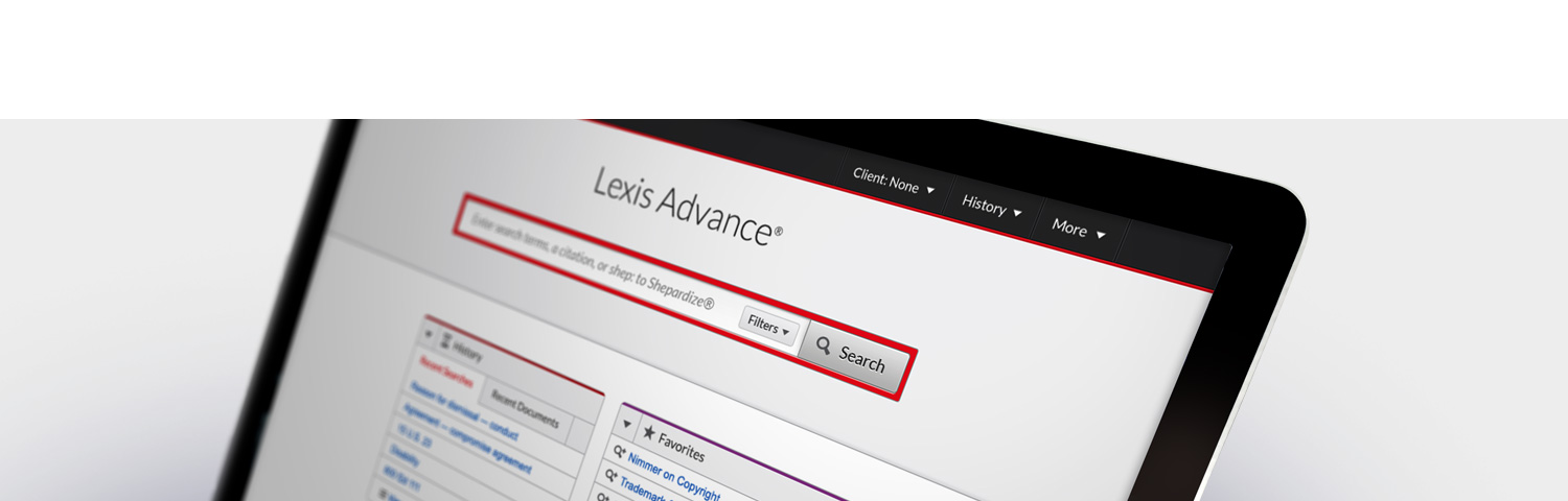 Lexis Advance® gets a new look and more.  See what's new