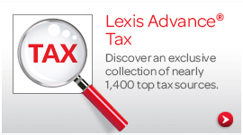 Nearly 1400 top tax sources. Click to Learn More.
