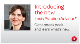 Learn about new enhancements on Lexis Practice Advisor