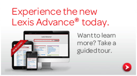 Experience the new Lexis Advance® today.