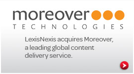 LexisNexis acquires Moreover Technologies