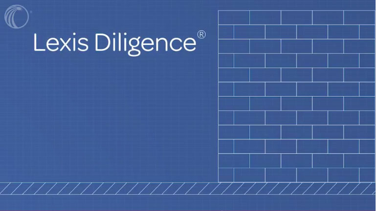 Introduction to Lexis Diligence<sup>&amp;reg;</sup>
