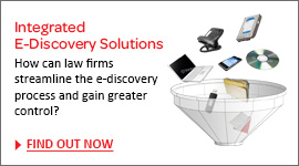 How can law firms streamline the e-discovery process and gain greater control?