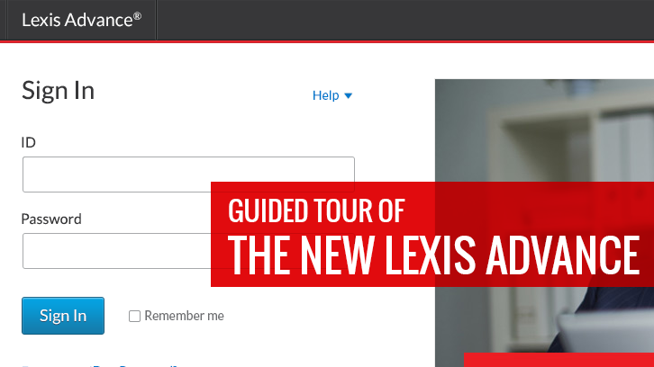 Guided tour of the new Lexis Advance