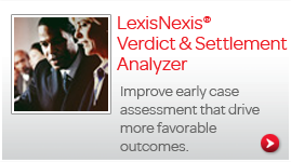 LexisNexis® Verdict & Settlement Analyzer