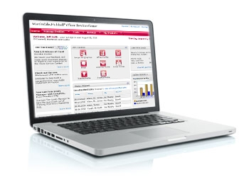 LexisNexis® Client Service Center laptop image