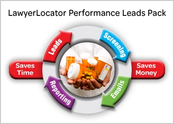 LexisNexis® LawyerLocator Performance Leads Pack solution process