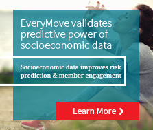 EveryMove tests predictive accuracy of LexisNexis® socioeconomic health risk model