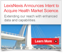 LexisNexis Announces Intent to Acquire Health Market Science.