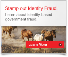 Stamp out Identity Fraud