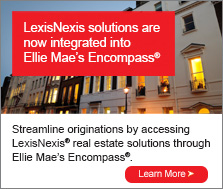 Ellie Mae's Encompass loan origination system