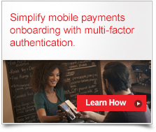 Simplify mobile payments with multifactor authentication
