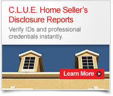 C.L.U.E. Home Sellers Disclosure Reports