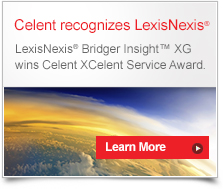 Celent recognizes LexisNexis