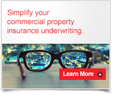 Evolve your commercial property insurance underwriting