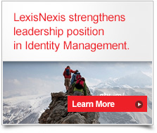 LexisNexis strengthens leadership position in identity management