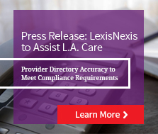 LexisNexis to Assist L.A. Care