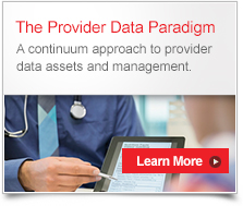 Provider Data Paradigm White Paper