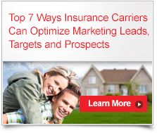 Top 7 Ways Insurance Carriers Can Optimize Marketing Leads, Targets and Prospects