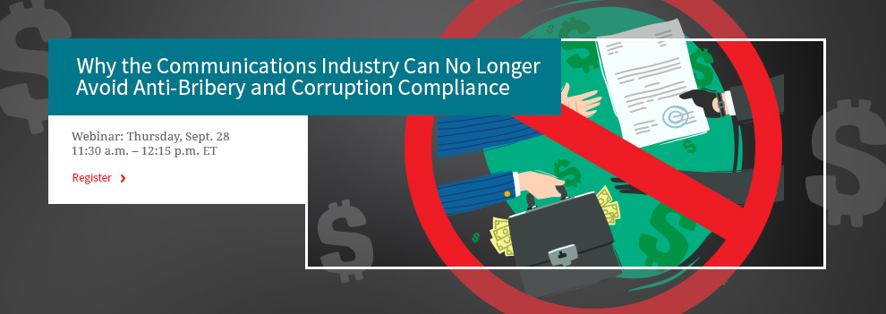 Why You Can No Longer Avoid Anti-Bribery and Corruption Compliance