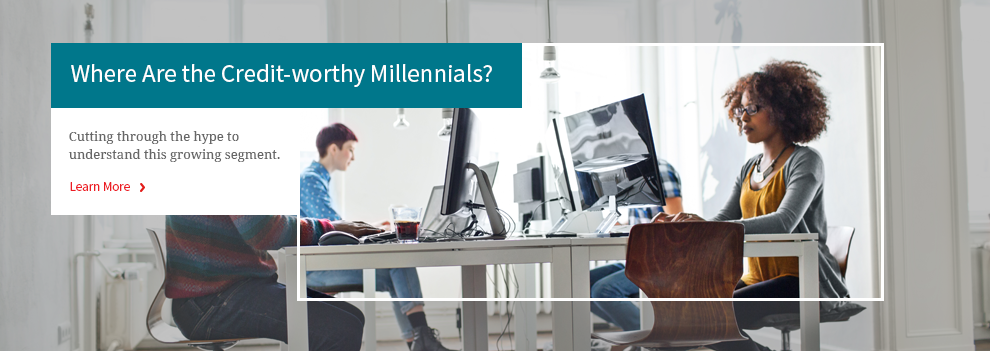 Where Are the Credit-Worthy Millennials?