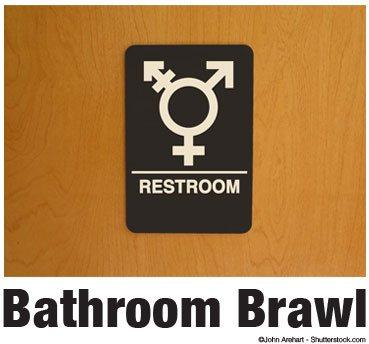Amateur lesbians eat box in the bathroom