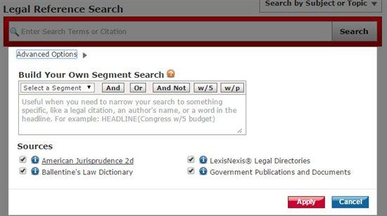 Legal Research - Academic - Wiki - LexisNexis Academic ...