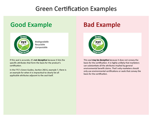 FTC Proactive and Preemptive on Green Certifications