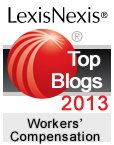 LexisNexis Top Blogs for Workers' Compensation and Workplace Issues – 2013 Honorees.