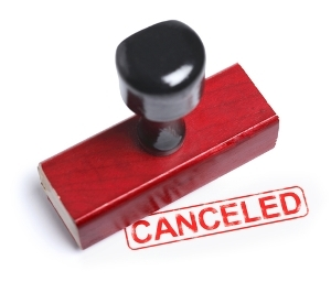 Cancellation Waives Right to Rescind: Cancellation is Anathema to