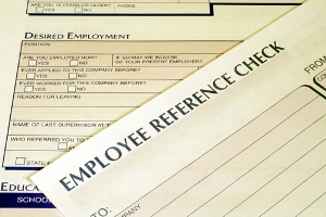 easy background check and employment verification form
