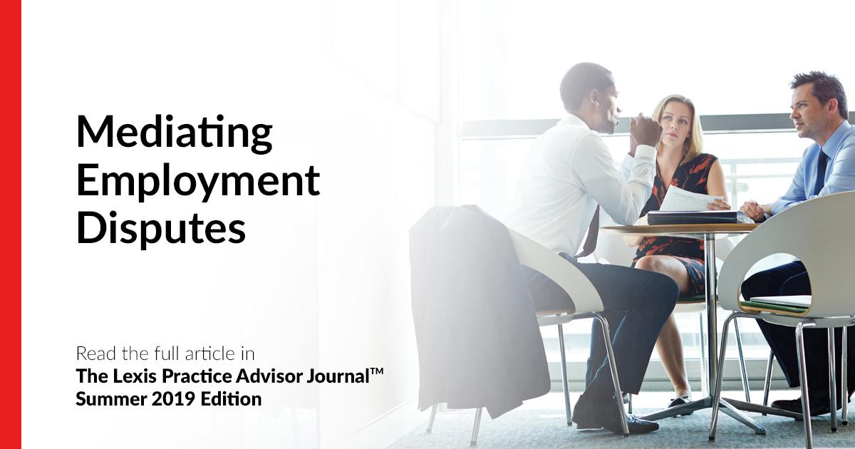 Mediating Employment Disputes