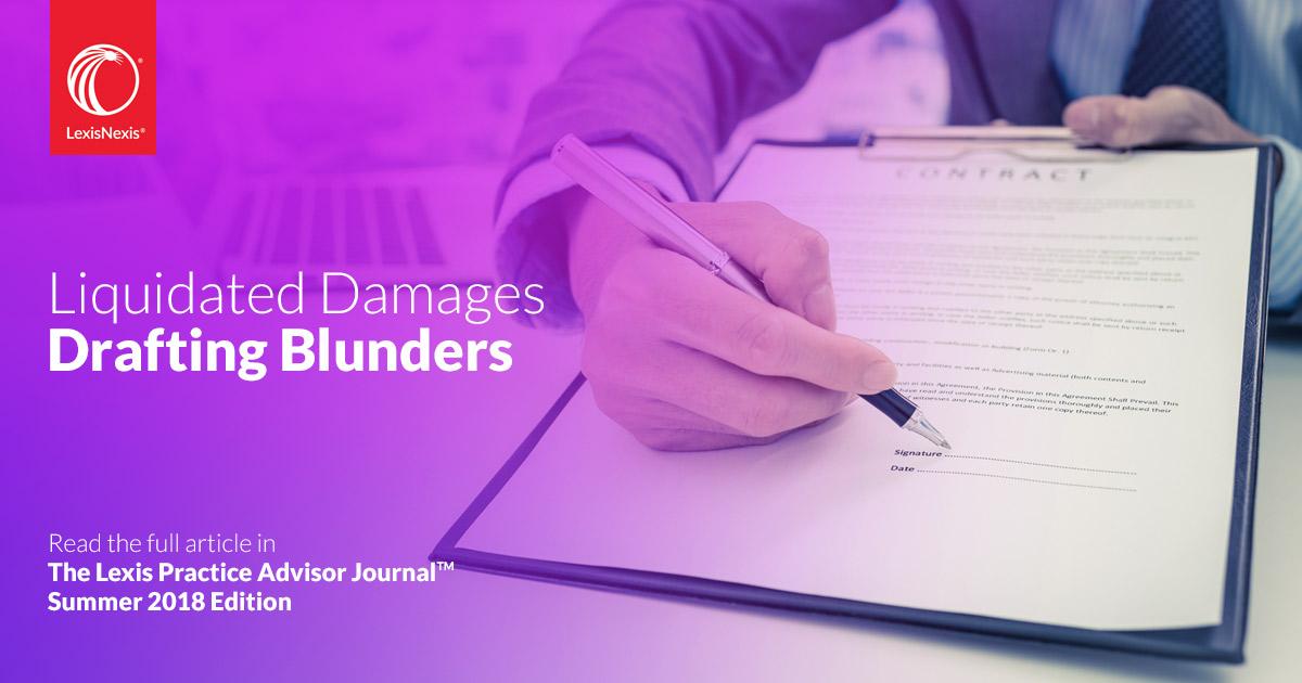 Liquidating damages definition