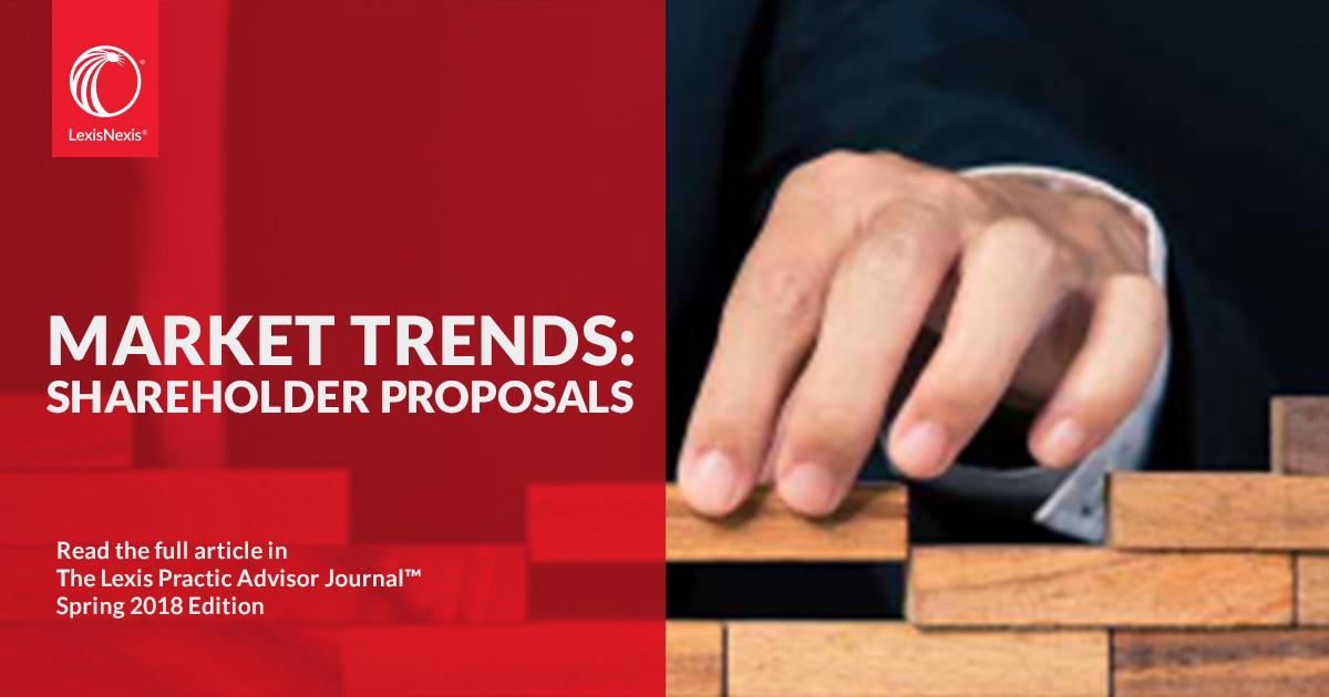 Market Trends: Shareholder Proposals