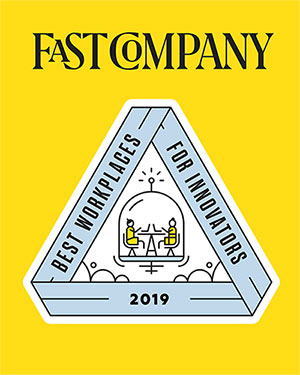 Fast Company Best Workplace for Innovators Award
