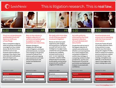 lexisnexis litigation research portfolio. Black Bedroom Furniture Sets. Home Design Ideas