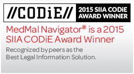 CODiE 2015 SIIA Award Winner