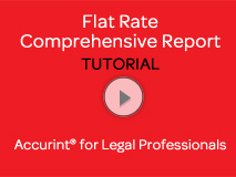 Flat Rate Comprehensive Report