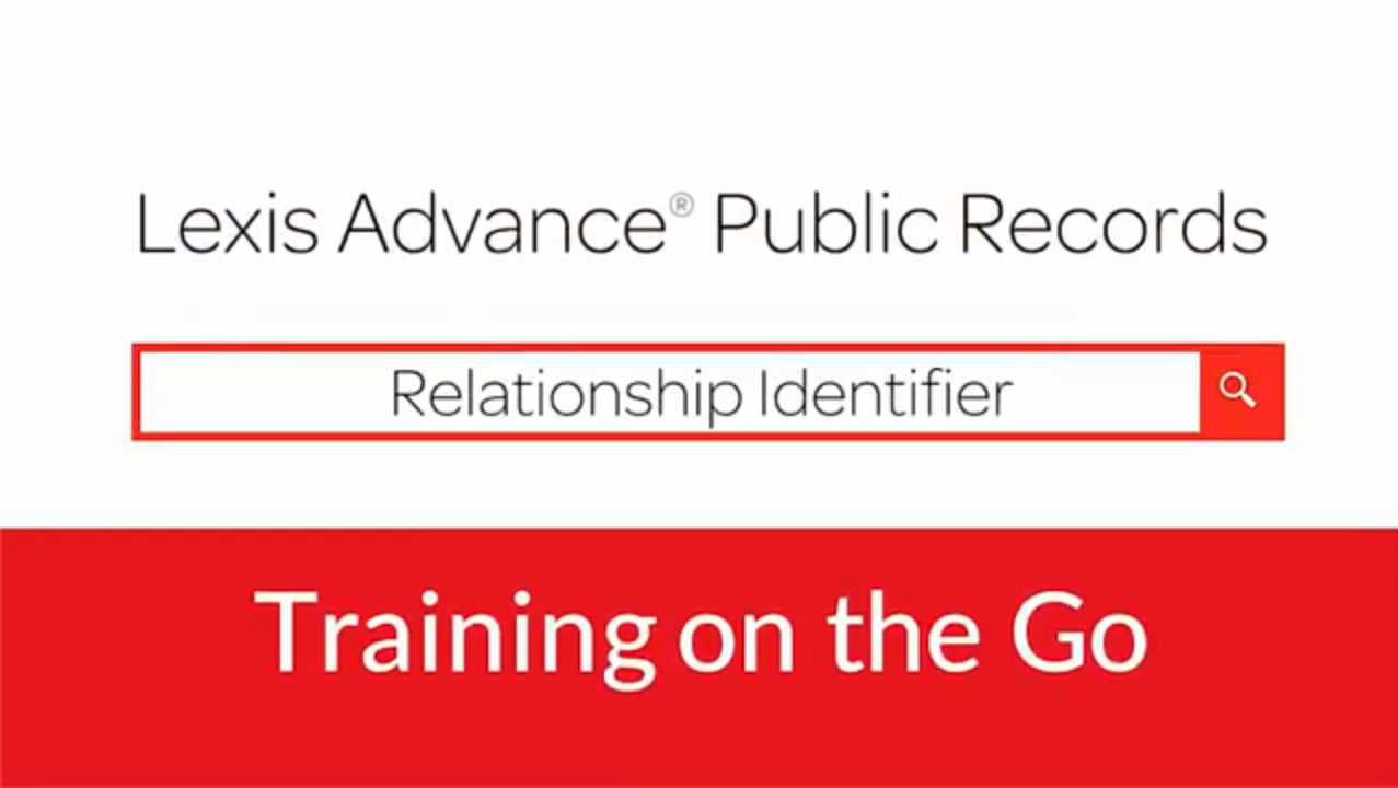 LexisNexis® Public Records – Find people, business records and assets