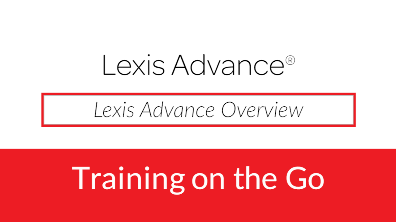 Lexis Advance - Online Legal Research |LexisNexis