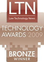 Bronze winner for Time and Billing for Small and Mid-sized firms (Up to 99 attorneys)