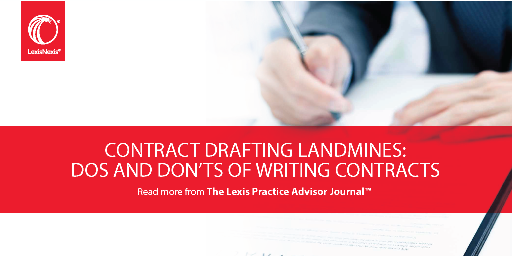 Contract Drafting Landmines